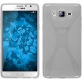 Silicone Case for Samsung Galaxy On7 X-Style transparent