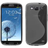 Silicone Case for Samsung Galaxy S3 Neo S-Style transparent