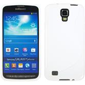 Silicone Case for Samsung Galaxy S4 Active S-Style white