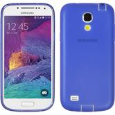 Silicone Case for Samsung Galaxy S4 Mini Plus Dustproof purple
