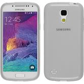 Silicone Case for Samsung Galaxy S4 Mini Plus transparent white