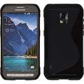 Silicone Case for Samsung Galaxy S5 Active S-Style black
