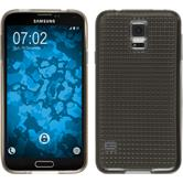 Silicone Case for Samsung Galaxy S5 Iced gray
