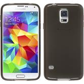 Silicone Case for Samsung Galaxy S5 mini transparent black