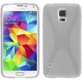 Silicone Case for Samsung Galaxy S5 mini X-Style transparent