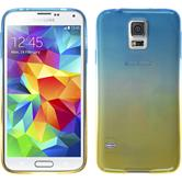 Silicone Case for Samsung Galaxy S5 Neo Ombrè Design:02