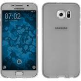 Silicone Case for Samsung Galaxy S6 360° Fullbody gray