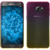 Silicone Case for Samsung Galaxy S6 Edge Plus Ombrè Design:01