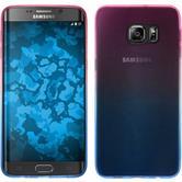Silicone Case for Samsung Galaxy S6 Edge Plus Ombrè Design:06