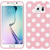 Silicone Case for Samsung Galaxy S6 Edge Polkadot Design:02