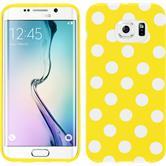 Silicone Case for Samsung Galaxy S6 Edge Polkadot Design:04