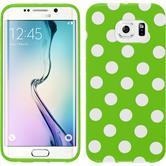 Silicone Case for Samsung Galaxy S6 Edge Polkadot Design:05