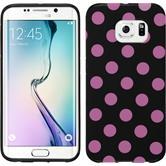 Silicone Case for Samsung Galaxy S6 Edge Polkadot Design:07