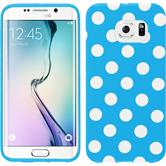 Silicone Case for Samsung Galaxy S6 Edge Polkadot Design:08