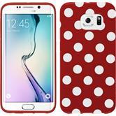 Silicone Case for Samsung Galaxy S6 Edge Polkadot Design:09