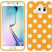 Silicone Case for Samsung Galaxy S6 Edge Polkadot Design:10
