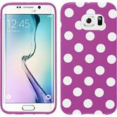 Silicone Case for Samsung Galaxy S6 Edge Polkadot Design:11