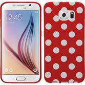 Silicone Case for Samsung Galaxy S6 Polkadot Design:09
