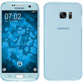 Silicone Case for Samsung Galaxy S7 Edge 360° Fullbody light blue