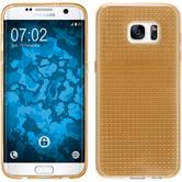 Silicone Case for Samsung Galaxy S7 Edge Iced gold