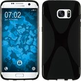 Silicone Case for Samsung Galaxy S7 Edge X-Style black