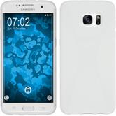 Silicone Case for Samsung Galaxy S7 Edge X-Style white