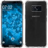 Silicone Case Galaxy S8 Shock-Proof transparent + Flexible protective film