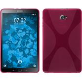 Silicone Case for Samsung Galaxy Tab A 10.1 (2016) X-Style hot pink