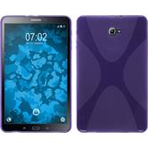 Silicone Case for Samsung Galaxy Tab A 10.1 (2016) X-Style purple