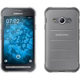 Silicone Case Galaxy Xcover 3 transparent Crystal Clear