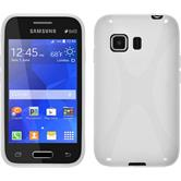 Silicone Case for Samsung Galaxy Young 2 X-Style white