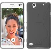 Silicone Case for Sony Xperia C4 / Dual S-Style gray