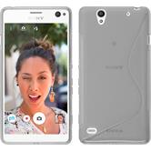 Silicone Case for Sony Xperia C4 / Dual S-Style transparent