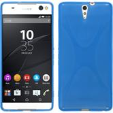 Silicone Case for Sony Xperia C5 Ultra X-Style blue