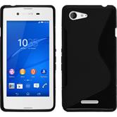 Silicone Case for Sony Xperia E3 S-Style black