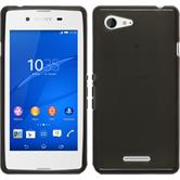 Silicone Case for Sony Xperia E3 transparent black