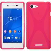 Silicone Case for Sony Xperia E3 X-Style hot pink