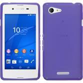Silicone Case for Sony Xperia E3 X-Style purple