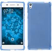 Silicone Case Xperia E5 ShockProof blue