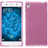 Silicone Case Xperia E5 ShockProof hot pink