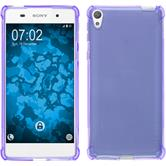 Silicone Case Xperia E5 ShockProof purple