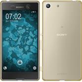 Silicone Case for Sony Xperia M5 360° Fullbody gold
