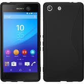 Silicone Case for Sony Xperia M5 S-Style black