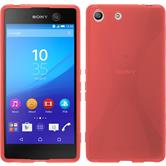 Silicone Case for Sony Xperia M5 X-Style red