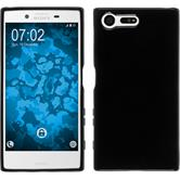 Silicone Case Xperia X Compact crystal-case black