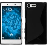 Silicone Case for Sony Xperia X Compact S-Style black