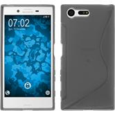 Silicone Case for Sony Xperia X Compact S-Style gray