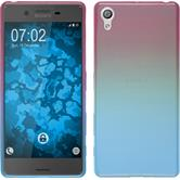 Silicone Case for Sony Xperia X Ombrè Design:06