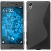 Silicone Case for Sony Xperia X S-Style gray