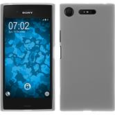 Silicone Case Xperia XZ1 matt white Case